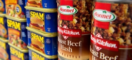 Hormel Foods celebrates record year, honors Avure