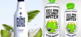 Agua de coco natural procesada con HPP