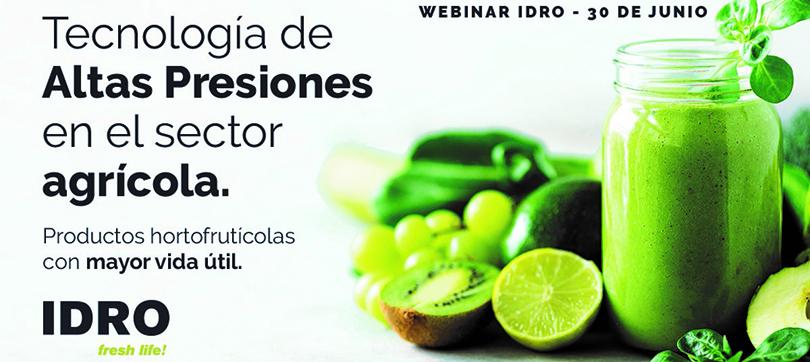 Productos hortofruticolas en HPP