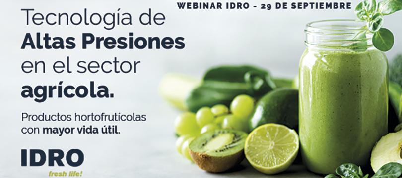 Webinar HPP para el sector hortofrutícola